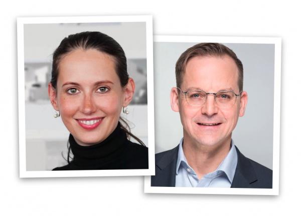 """Seminar """"Pressearbeit via Internet"""" – Die Dozenten Barbara Hallmann und Eric Sturm"""