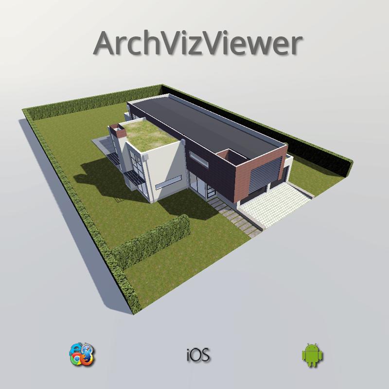 ArchVizViewer-App für iOS, Android und Webbrowser