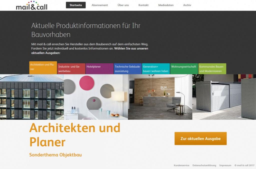 Mail call neue materialien neue technologien for Hotelplaner architekten
