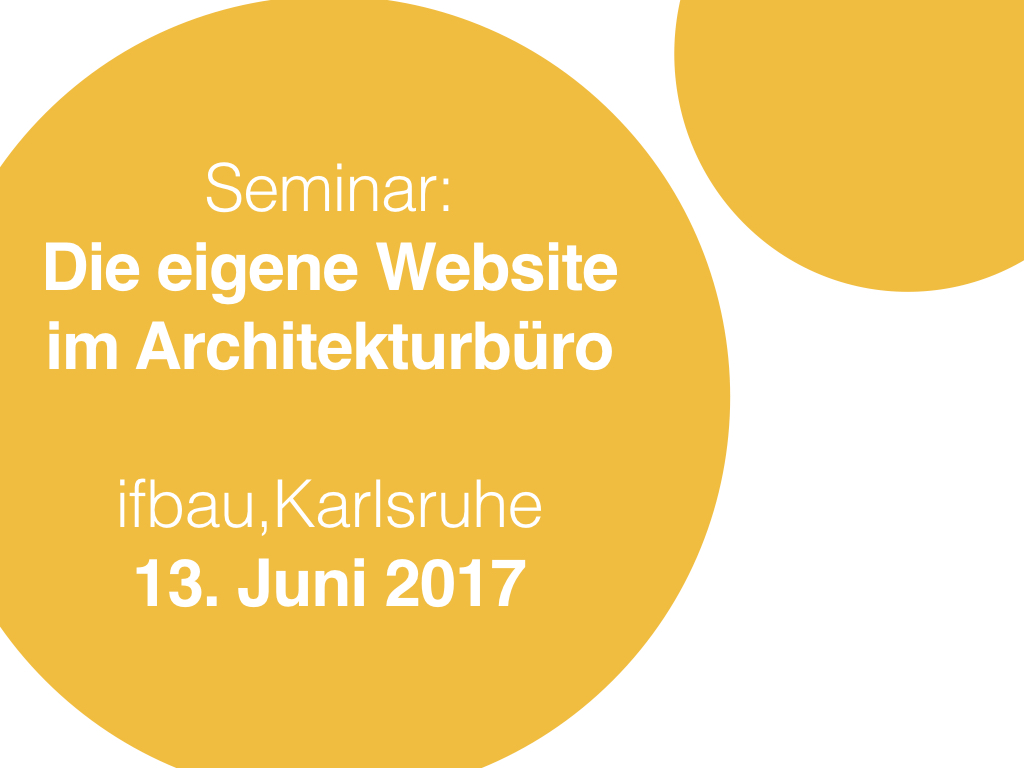 website bauk sten f r architekten ifbau seminar in karlsruhe. Black Bedroom Furniture Sets. Home Design Ideas