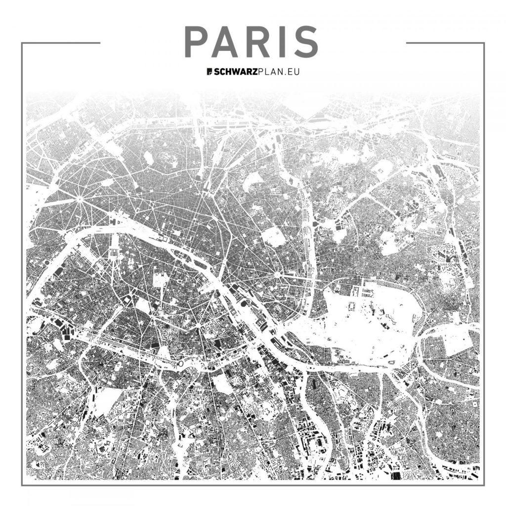 Lageplan Paris (Bild: SCHWARZPLAN.EU)