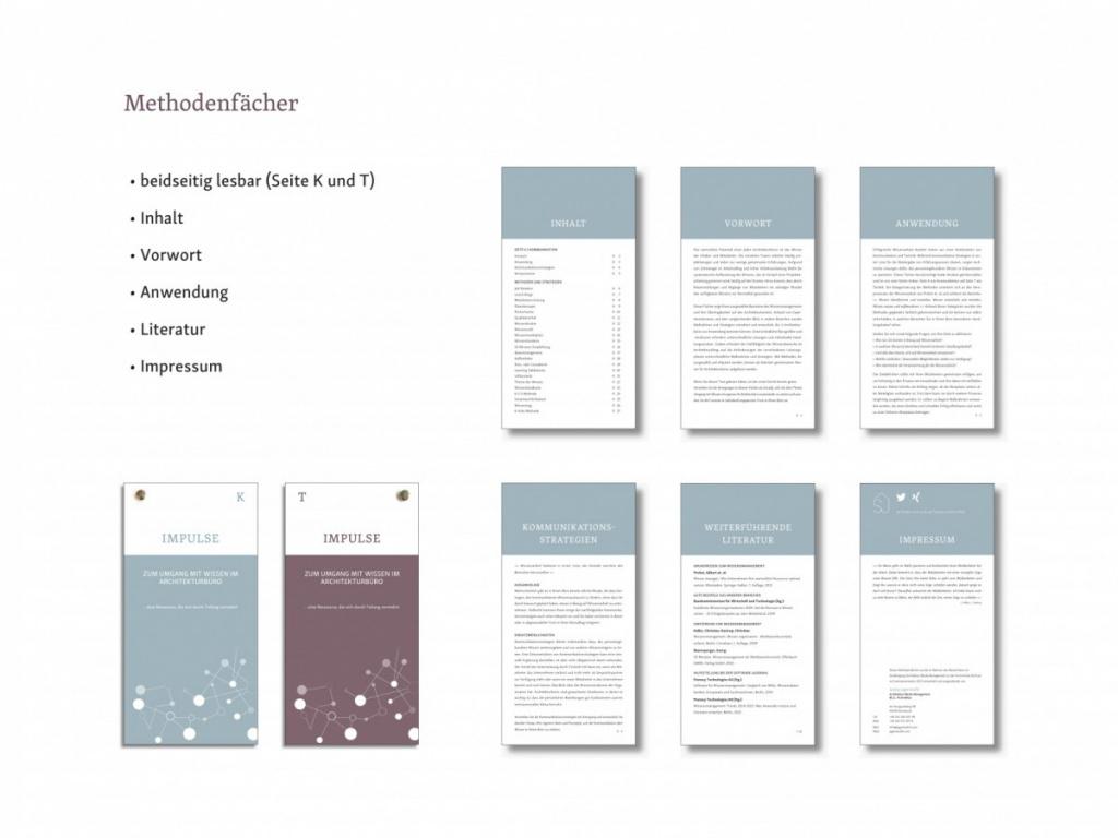Abb. 6 - Methodenfächer (Gastbeitrag: Wissensmanagement in Architekturbüros; Abbildung: Saskja Jagenteufel)