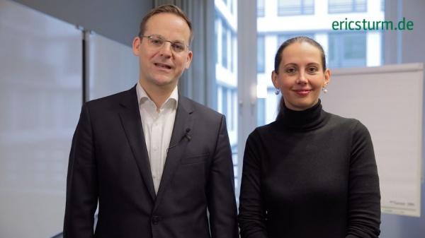 """Seminar """"Pressearbeit für Innenarchitekten"""" (Eric Sturm und Barbara Hallmann)"""