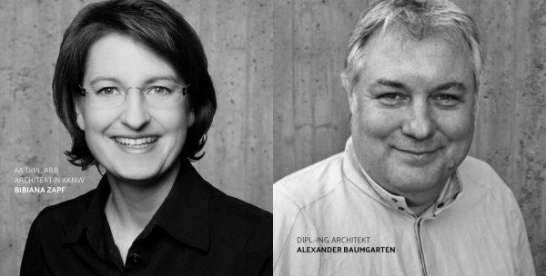 Die Akteure der 54. VitrA-Projektwerkstatt: Bibiana Zapf und Alexander Baumgarten (Fotos: Studio LCD, Köln)