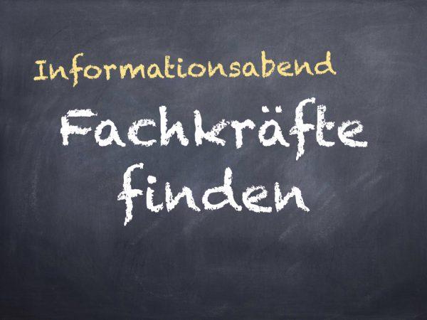 Informationsabend Fachkräfte finden (13. Februar 2019, baukultur-zentrum Rheinland-Pfalz)