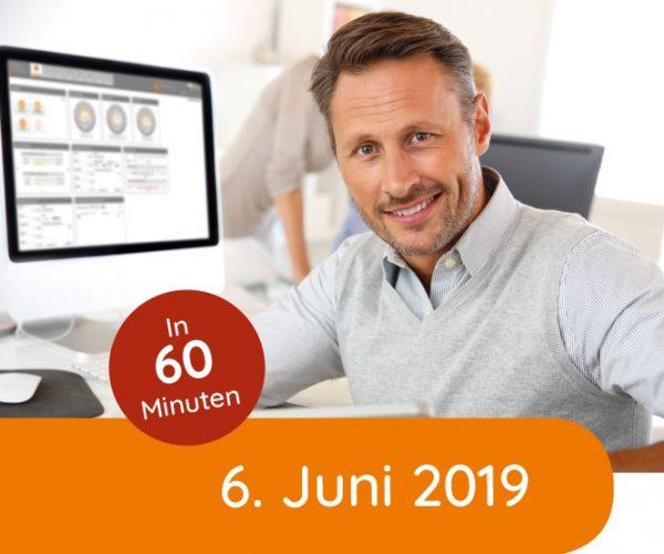 Kostenloses Live-Webinar am 06. Juni 2019 von 10.00 – 11.00 Uhr