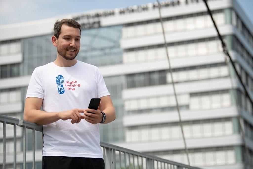 "Baukultur-Jogging-App ""Sight Running NRW"" (Foto: Andrea Bowinkelmann / LSB NRW)"