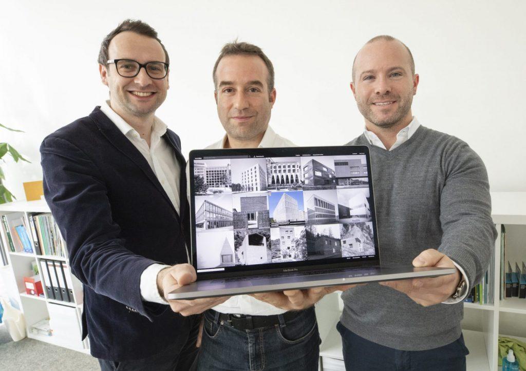 Die drei baukobox-Gründer (v.l.n.r.) Sebastian Lelle, Martin Memmel und Christian Wolf (Foto: Reiner Voß / view - die agentur / TUK)
