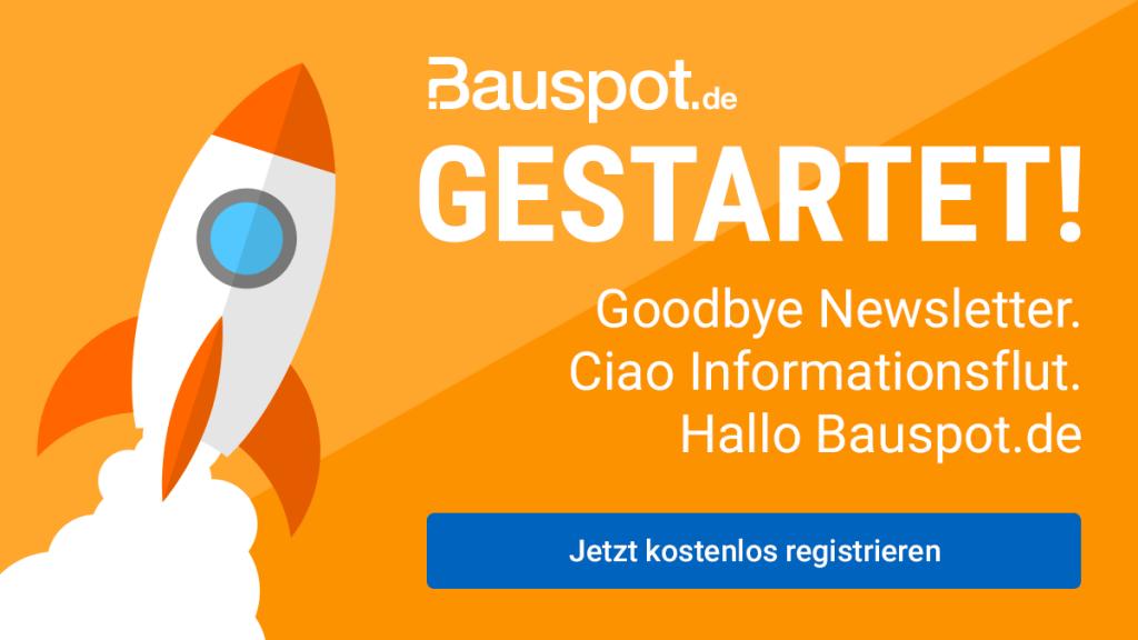 Im Januar 2020 hat die Baufragen Software GmbH aus Rosenheim das neue Angebot auf bauspot.de gelauncht (Grafik: Baufragen.de)