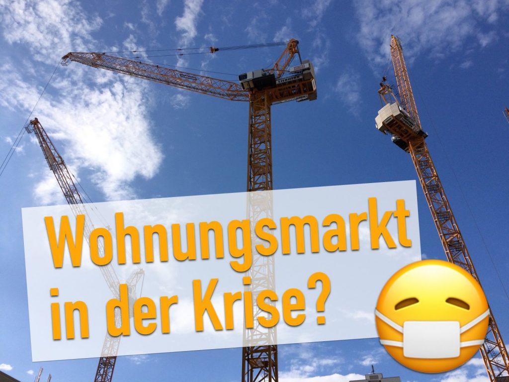 """Auswirkungen der Coronakrise für Baufirmen, Mieter, Vermieter und Investoren: """"Corona wird den Wohnungsmarkt tiefgreifend verändern!"""" (Collage: Internet-fuer-Architekten.de)"""