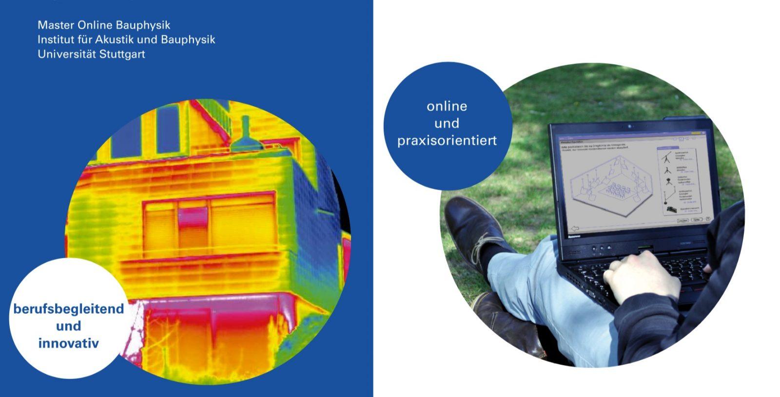Master Online Bauphysik (Abbildung: Institut für Akustik und Bauphysik, Universität Stuttgart)