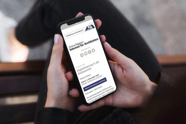 Online-Fortbildung für Architekten im November 2020: In unserem Webinar-Kalender finden Sie passende Online-Events! (Collage: Internet-fuer-Architekten.de)