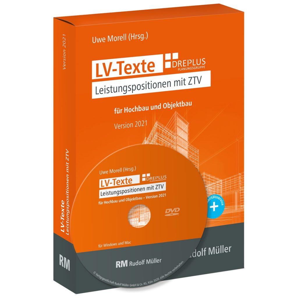 """Die """"LV-Texte"""" unterstützen den Ausschreibenden mit mehr als 6000 vorformulierten, praxisorientierten Positionstexten (Foto: RM Rudolf Müller)"""