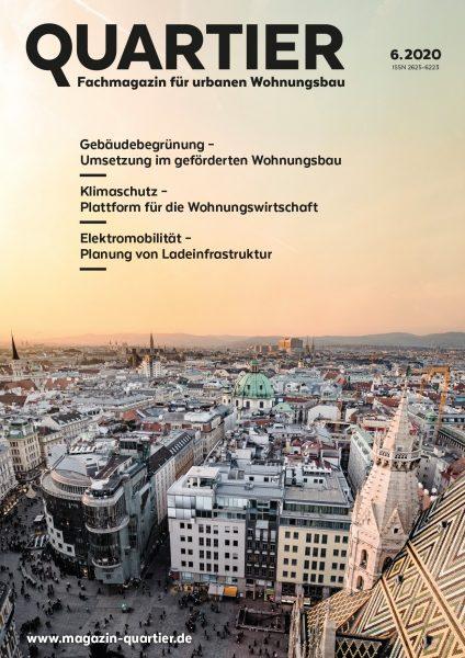 QUARTIER, das Fachmagazin für urbanen Wohnungsbau
