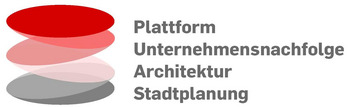 """Das Logo der Plattform """"Unternehmensnachfolge in Architektur und Stadtplanung"""" (Grafik: Architektenkammer Berlin)"""