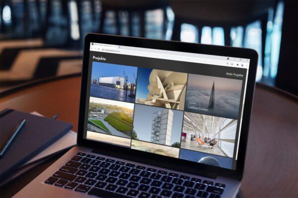 Die realisierten Projekte werden auf der neuen Website wernersobek.com bildgewaltig in Szene gesetzt (Foto: Werner Sobek)